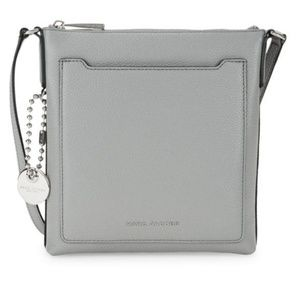 New MARC JACOBS Pebbled Leather Crossbody Bag